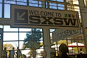 SXSW Welcome Sign