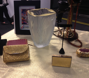 18kt yellow gold clutch bag: Courtesy of Camilla Dietz Bergeron