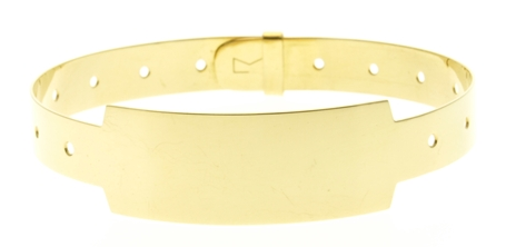 18kt Gold Vip Pass Bracelet