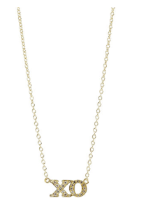 18kt gold pendant with pave diamonds: Available at Barneys