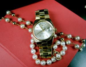 18kt gold vintage Rolex