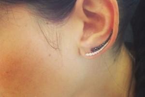 An ear cuff on Jade Trau's instagram