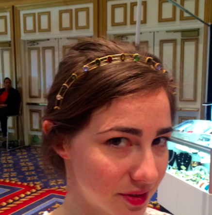 Headband from Lowther Antiques