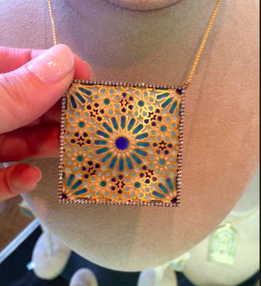 Pinar Oner 18kt Byzantine Necklace