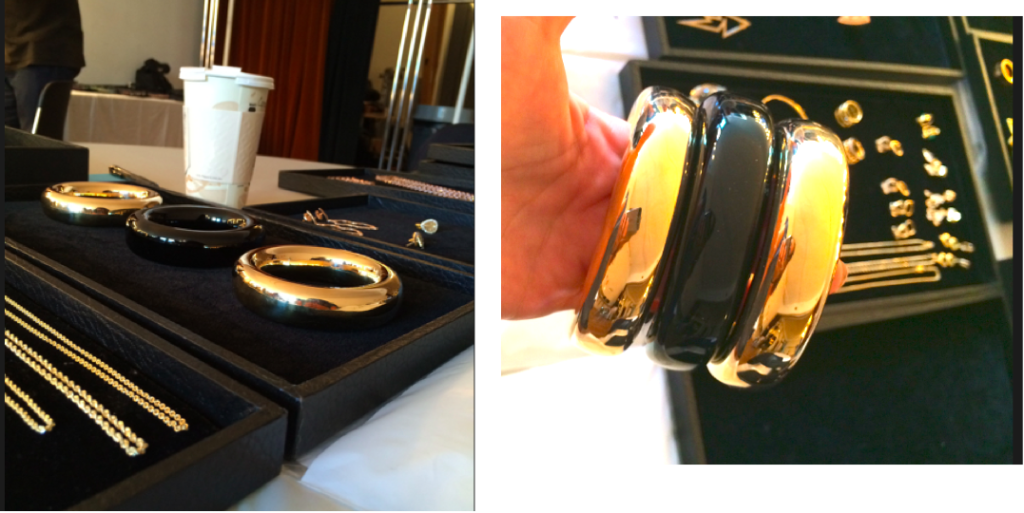 Tiffany & Co 18kt gold bangles