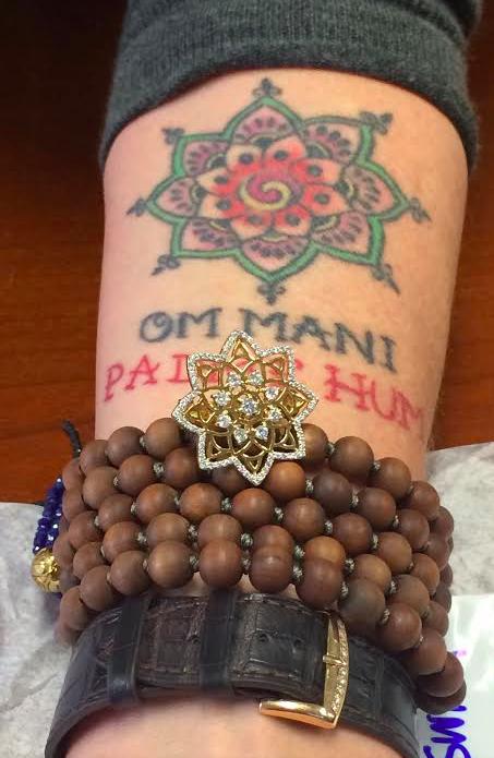 Mandal tattoo