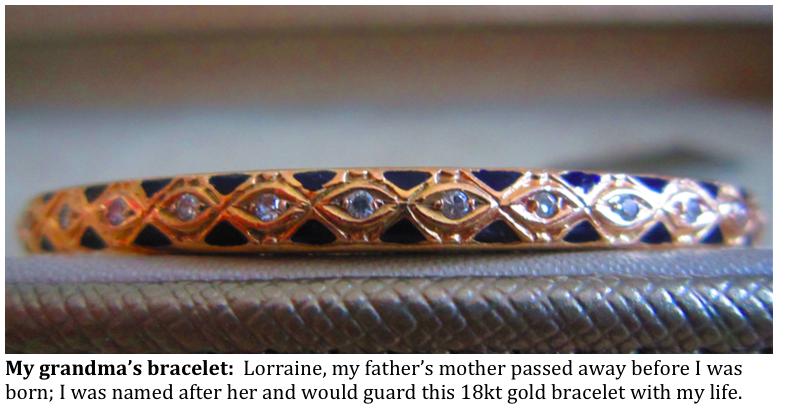 Grandmas vintage bracelet