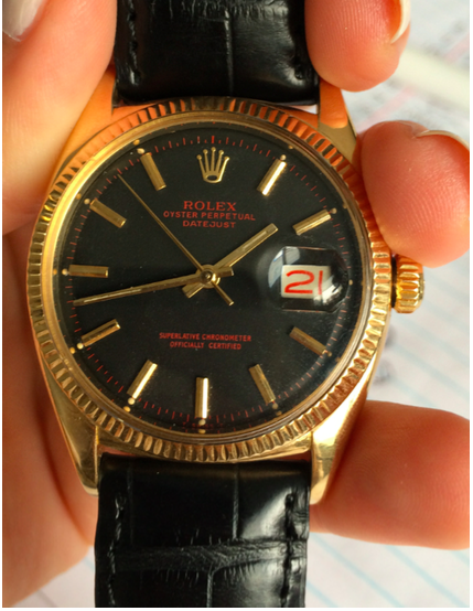 This is a vintage Rolex from the 1960's that I currently have for sale.