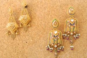 22kt earrings